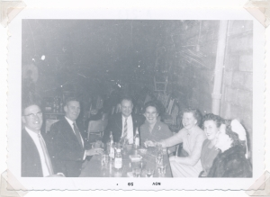 Dick Schenk, Reuben Grein, Bun & JeanWidmeyer, Ruby Grein, Marg Schenk (x)