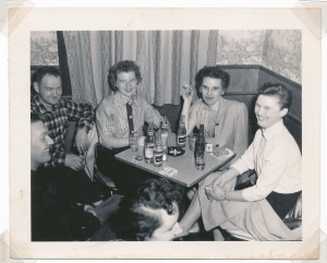 (x) Bun Widmeyer, Ruby Grein, Jean Widmeyer, Betty Grein (x)
