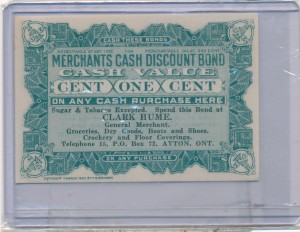 Clark Hume General Merchant