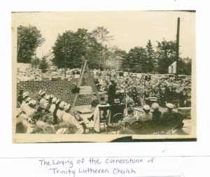 laying of cornerstone
